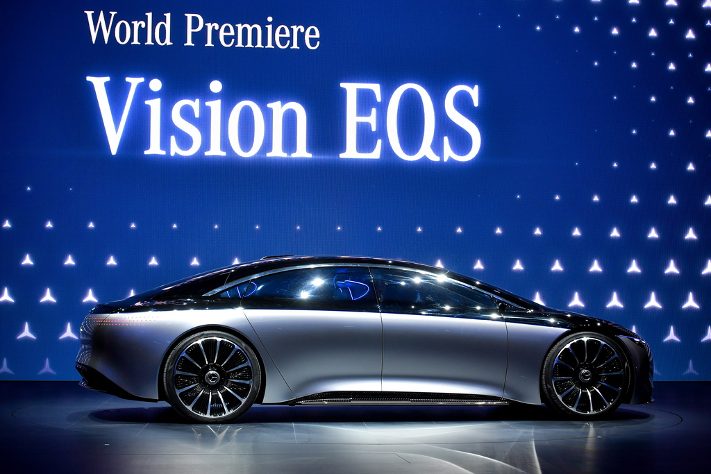 """<p>Mercedes-Benz Vision EQS</p>  <h1 class=""""entry-title"""" itemprop=""""headline"""" style=""""box-sizing: border-box; font-size: 36px; margin: 0px 0px 10px; font-family: &quot;Roboto Condensed&quot;, sans-serif; font-weight: 500; line-height: 1.1; color: rgb(0, 0, 0); padding-bottom: 10px; font-style: normal; font-variant-ligatures: normal; font-variant-caps: normal; letter-spacing: normal; orphans: 2; text-align: start; text-indent: 0px; text-transform: none; white-space: normal; widows: 2; word-spacing: 0px; -webkit-text-stroke-width: 0px; background-color: rgb(255, 255, 255); text-decoration-style: initial; text-decoration-color: initial;""""><span style=""""font-size:16px;"""">Всичко за автомобилния бизнес на международното автомобилно изложение IAA 2019 във Франкфурт</span></h1>"""