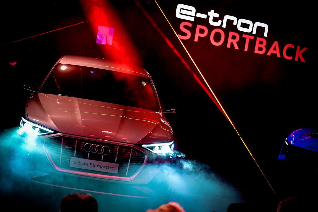 <p>Audi e-tron Sportback</p>