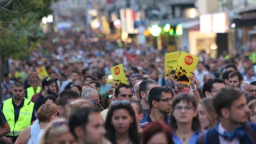 Протестът против Иван Гешев