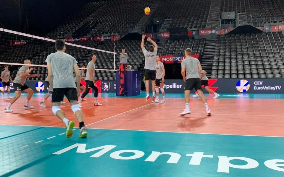 Националите по волейбол с първа тренировка в Монпелие