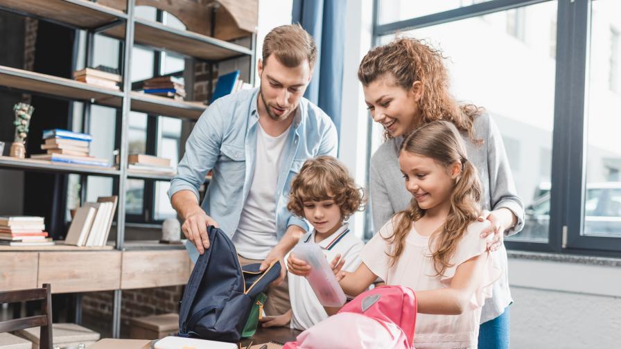 Как се подготвят за първия учебен ден спокойните родители