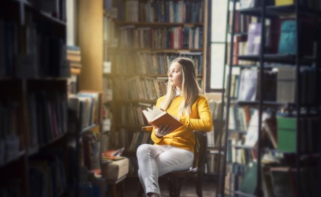 Нещо, което не може да видите често в книжарница (СНИМКИ)