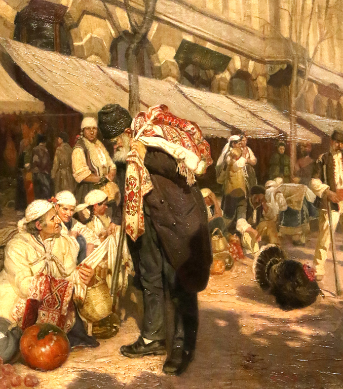 <p>Антон Митов - Пазар в София, 1899г.</p>