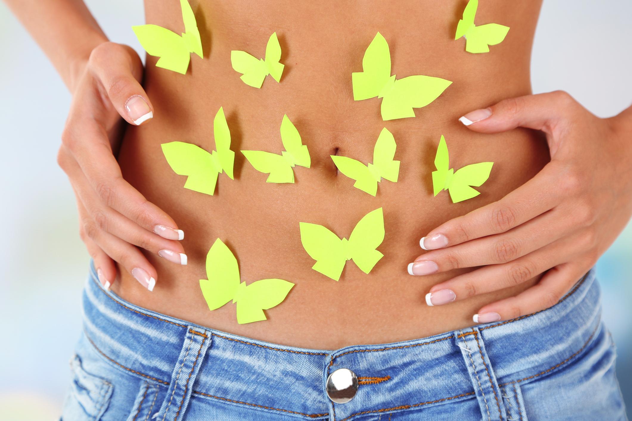<p><strong>Kilig</strong> (тагалски)</p>  <p>Пеперудите в стомаха, когато си говорите с някого, който харесвате или намирате за привлекателен.</p>