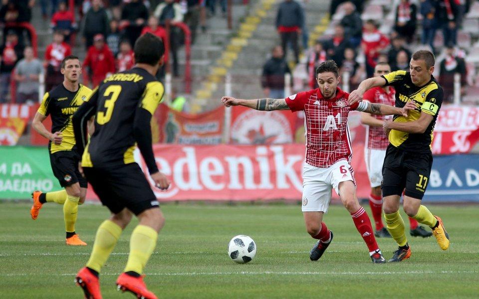 Отборите на Ботев Пловдив и ЦСКА се изправят един срещу