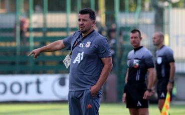 Треньорът на ЦСКА: Горд съм от играчите, питайте Петрович за Бодуров и Пинто