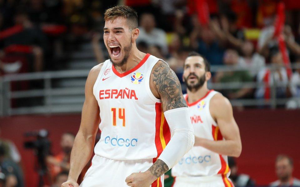 Националният отбор на Испания е новият световен шампион по баскетбол