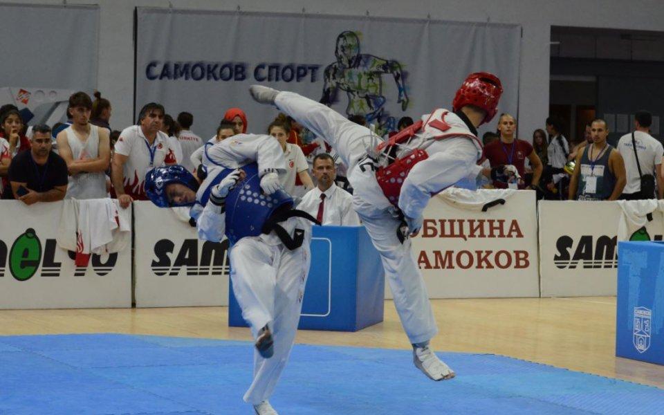 Българският национален отбор по олимпийско таекуондо станабалкански шампион, на завършилото