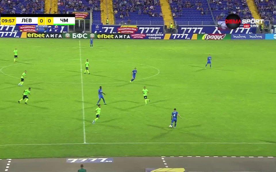 В 10-ата минута гол на Жоржиньо от Черно море не