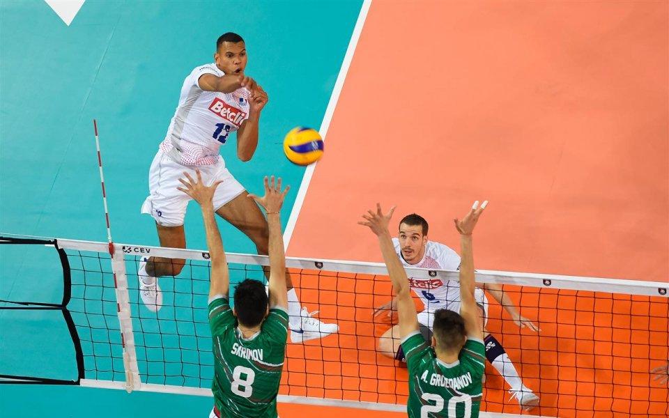 България допусна първа загуба по време на участието си в