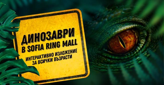 --> Създадено за Sofia Ring Mall Любопитно Динозаври в мола