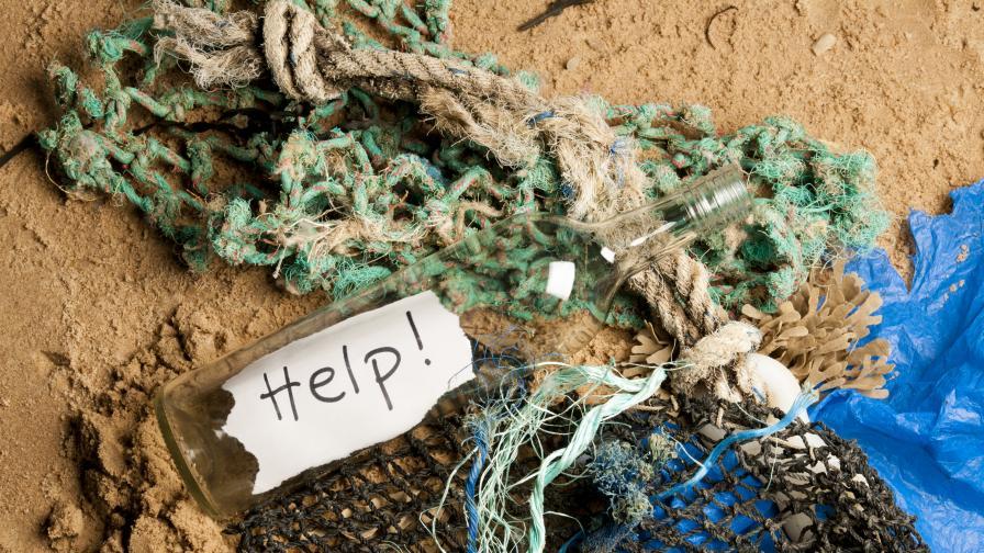 Писмо в бутилка спаси тричленно семейство