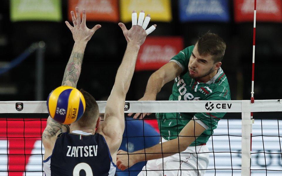Националният отбор на България загуби с 1:3 (25:22, 23:25, 21:25,