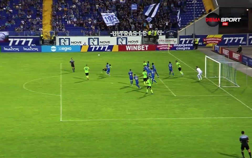 Деветият кръг на efbet Лига предложи 16 гола. Единственият двубой,