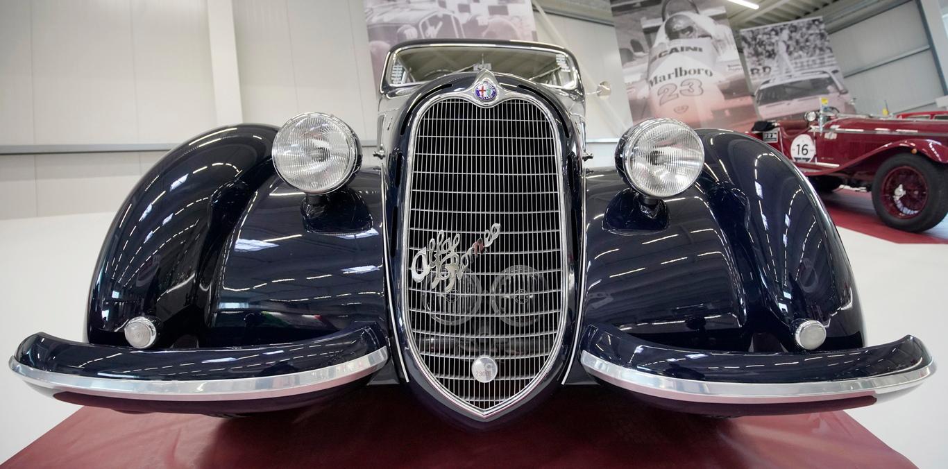 <p>Alfa Romeo 6c Mille Miglia Coupe</p>