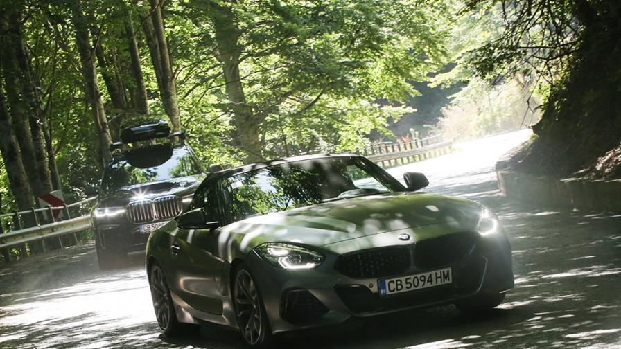 Зад волана на BMW Z4 M40i