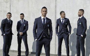 Шампионски костюми в Лудогорец за Лига Европа