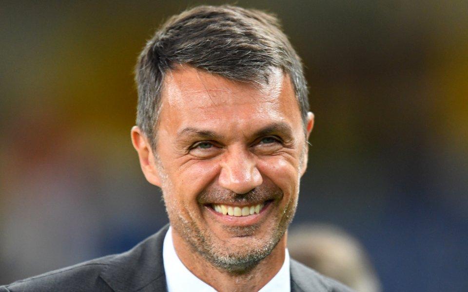 Легендата наМилани настоящ технически директор на клуба Паоло Малдини коментира