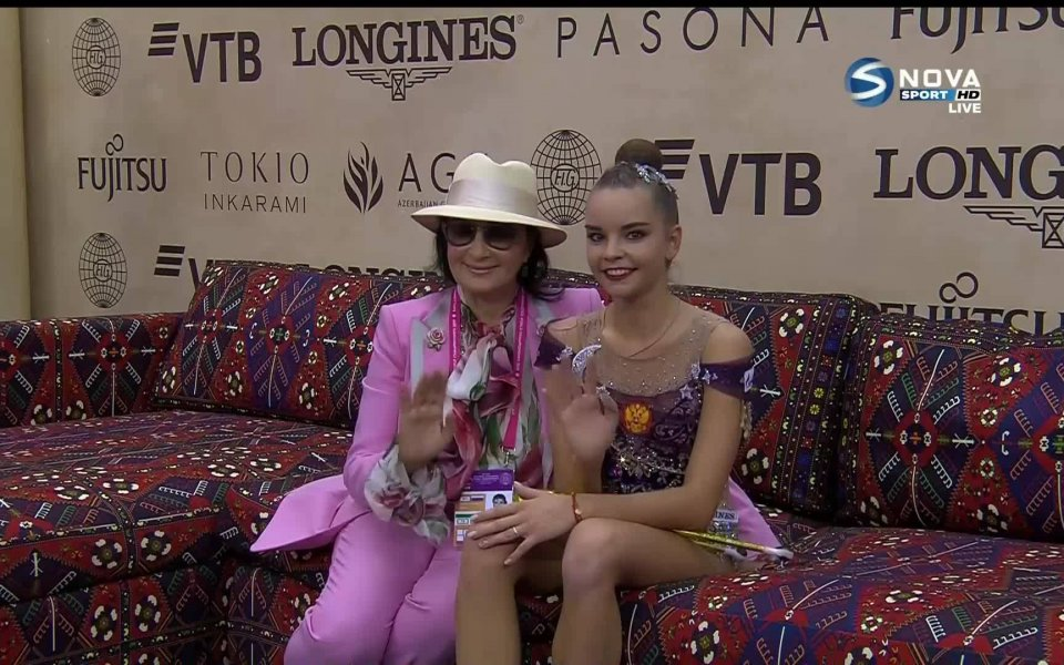 Руската звезда в художествената гимнастика Дина Аверина спечели финала на