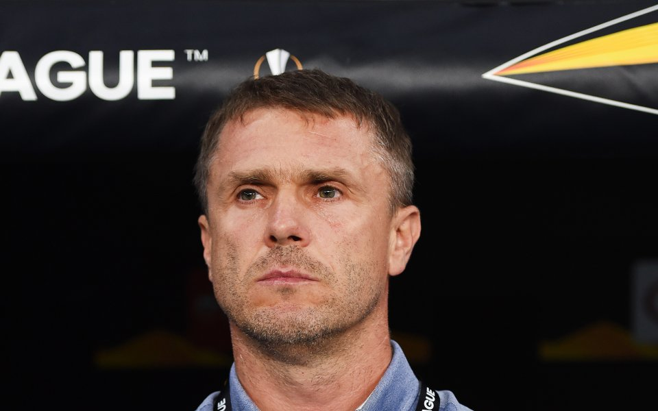 Треньорът на Ференцварош СерхийРебров е на мнение, че Лудогорец е