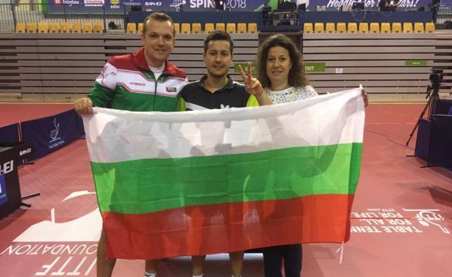Историята на Денислав: от желязната маса пред блока до почетната стълбичка