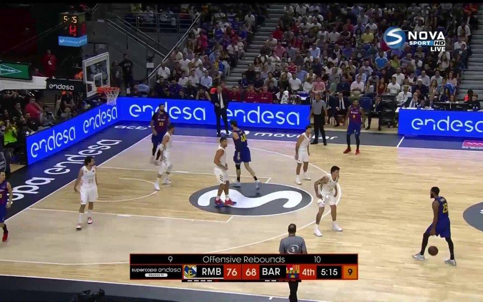 Реал Мадрид спечели баскетболната Суперкупа на Испания, след като триумфира