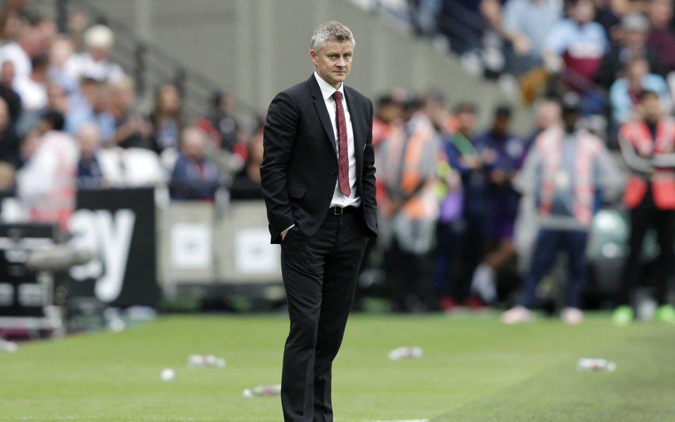 Мениджърът на Манчестър Юнайтед Оле Гунар Солскяер отвърна на критиките