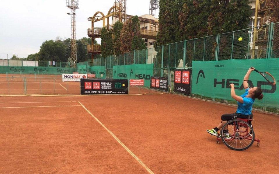 Пловдив ще е домакин на турнир по тенис за хора в инвалидни колички