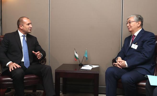 България и Казахстан обсъдиха задълбочаване на отношенията