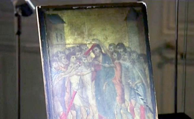 Продадоха уникалната картина от 13 в., която висяла над печка