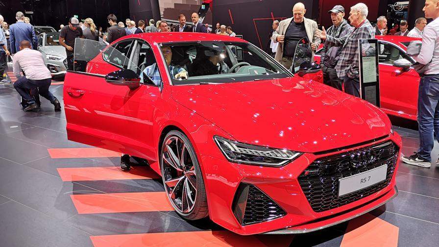 Audi RS 7 дебютира на салона във Франкфурт.