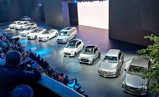 Mercedes показа цялата си електрифицирана гама във Франкфурт.