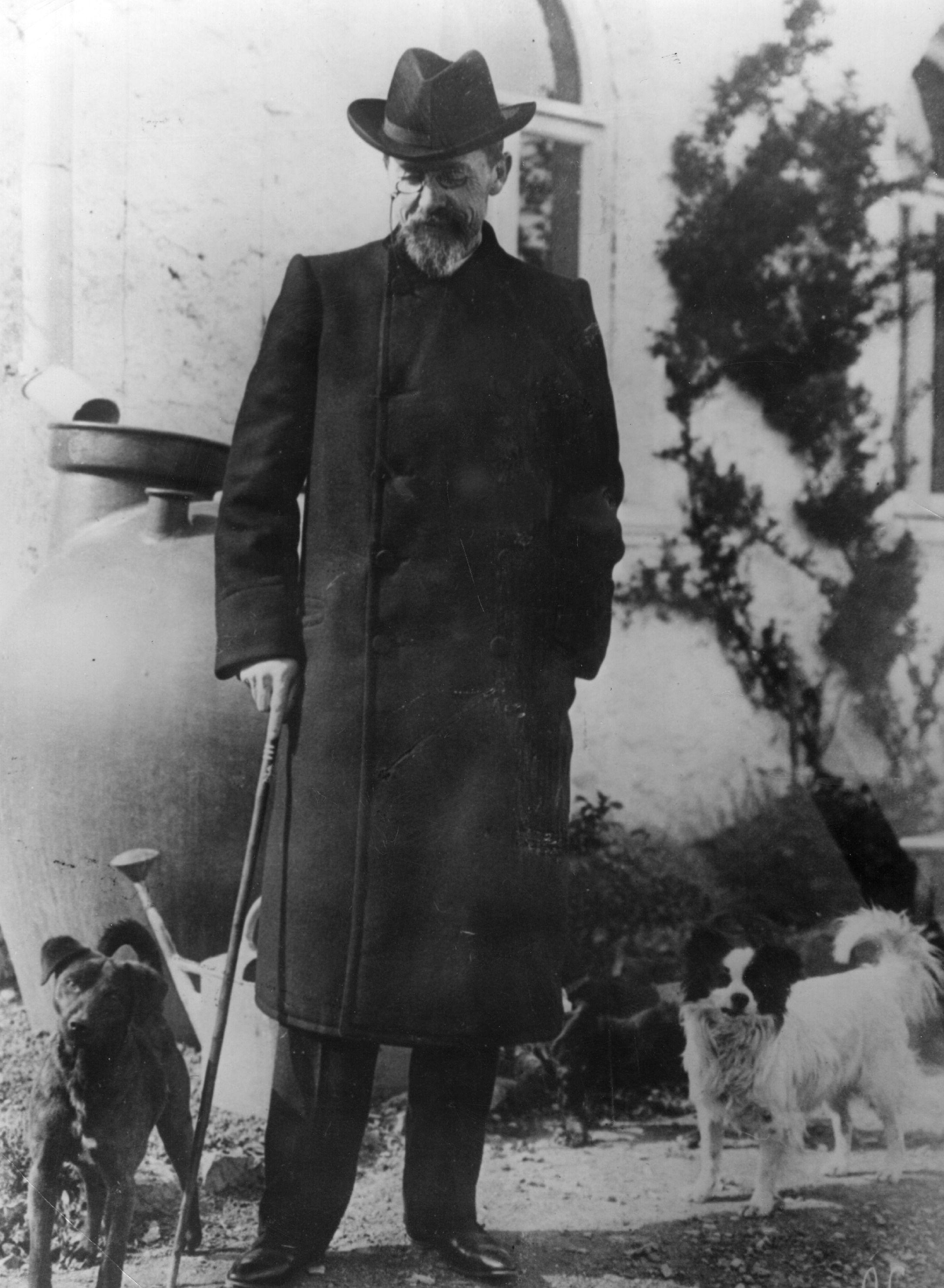 <p>Руският писател и драматург Антон Чехов също често е получавал слаби оценки в училище.</p>