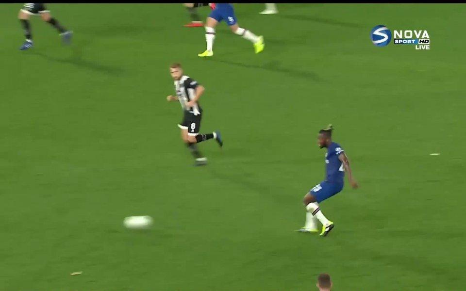 Отборът на Челси поведе със 7:1 на състава на Гримзби