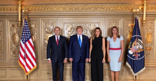 """""""Прием от президента на САЩ Доналд Тръмп и съпругата му"""