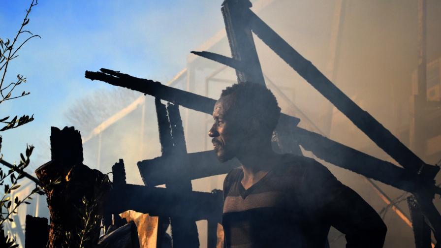 пожар лагер Лесбос Гърция Мория мигранти бежанци