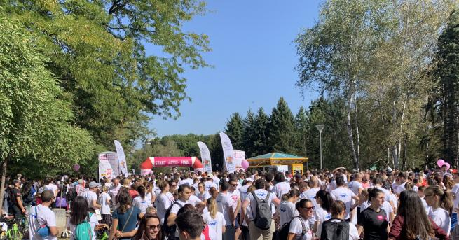 България 2000 празнуваха живота с Race for the Cure Актрисата