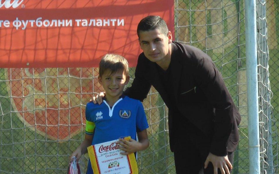Иван Горанов награди млади футболисти в турнир