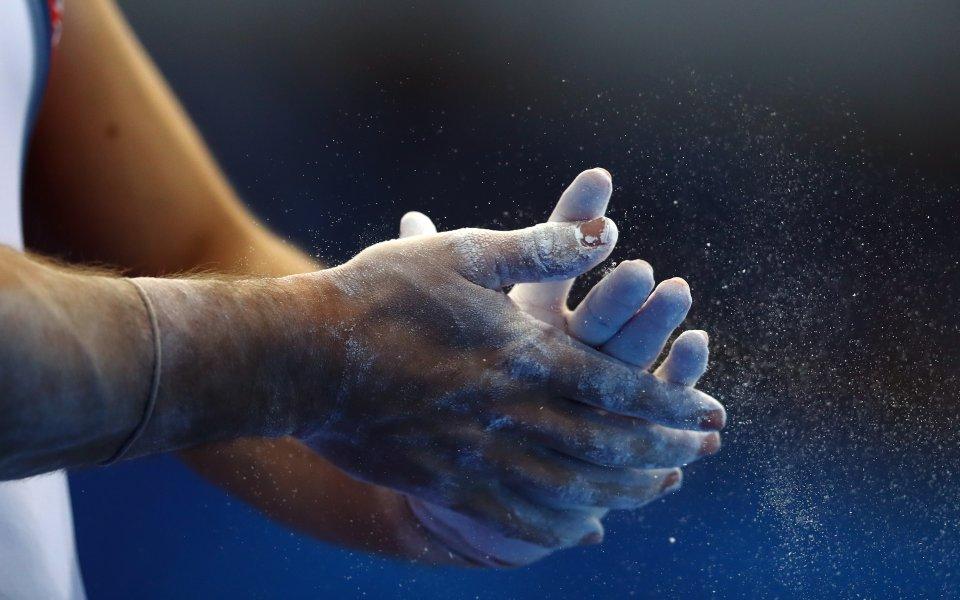 Успешно премина подиум-тренировката на тримата български национали по спортна гимнастика