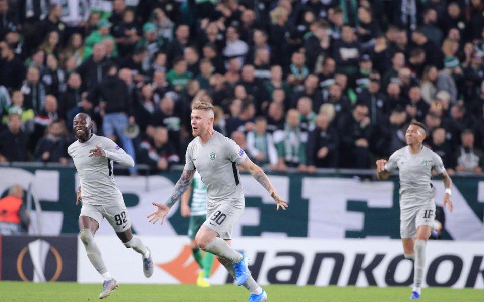 Снарядът на Форстър номиниран за гол N1 на кръга в Лига Европа