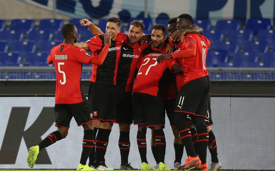 Два гола в добавеното време, обрат и инфарктна домакинска победа за Рен