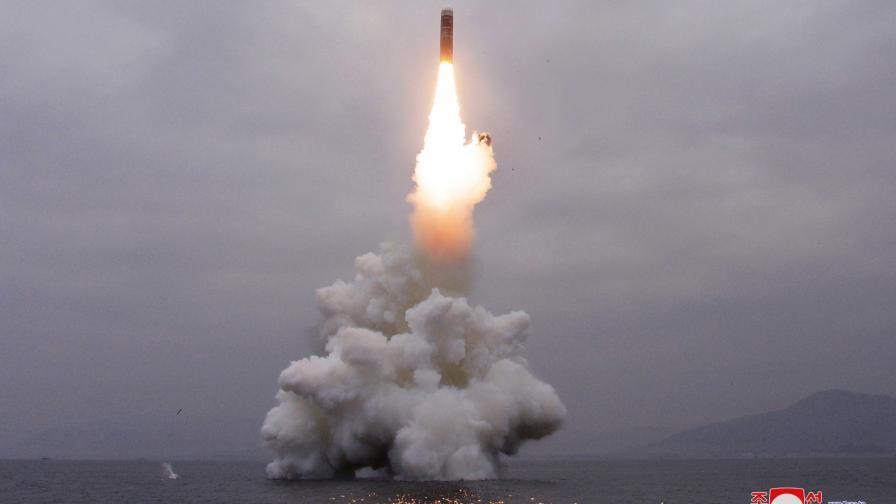 Последният тест на балистична ракета от страна на Северна Корея