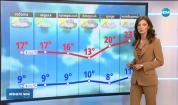 Прогноза за времето (05.10.2019 - обедна емисия)