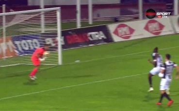 Локомотив Пд с пети гол във вратата на Етър