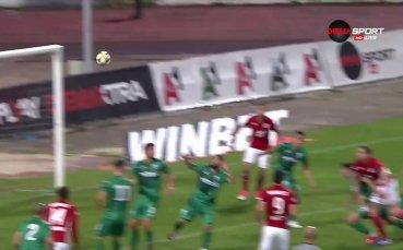 ЦСКА - Витоша 3:0 /първо полувреме/