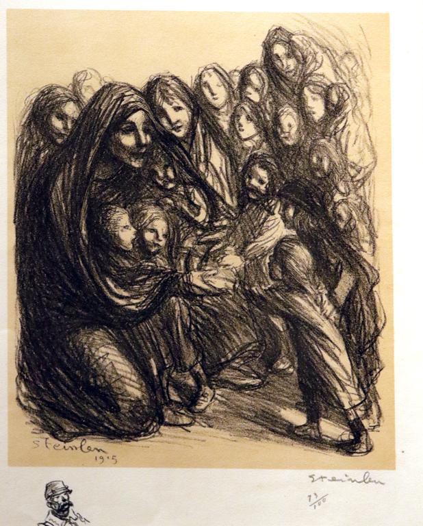 <p>Теофил-Александър Стайнлен, Франция. Композиция, литография</p>