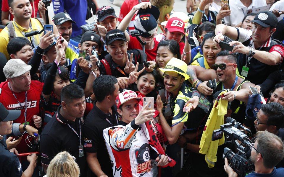 Световният шампион за сезон 2019 в MotoGP - Марк Маркес