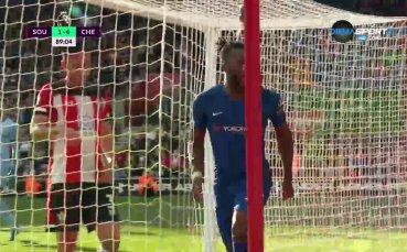 Гол между краката на вратаря и 4:1 за Челси срещу Саутхемптън