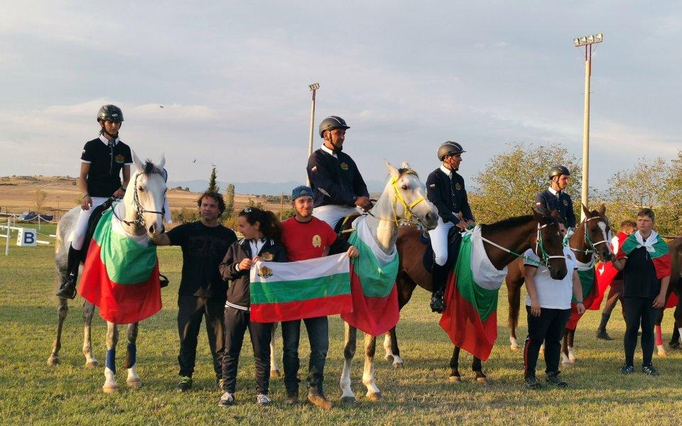 България обра медалите на Балканския шампионат по конен спорт