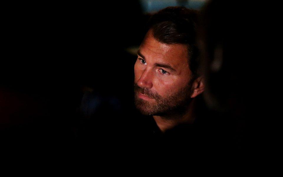 Еди Хърн: Отне време на Джошуа да преодолее загубата от Руис